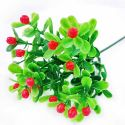Artificial leaves, Plastic and wires, 1 Plastic flowers, 22cm Plastic flowers, [ST1400]